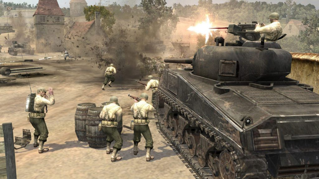 Company of Heroes czołg M4 sherman