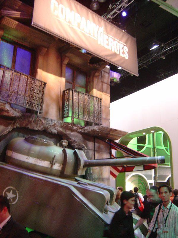 Company of Heroes Stanowisko na E3