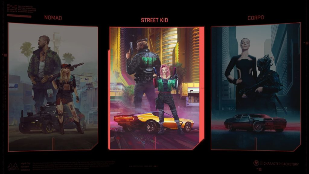 Cyberpunk 2077 droga do wyboru