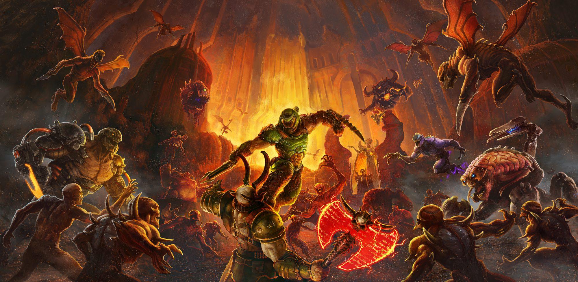 Bijemy rekord! Czy uda nam się osiągnąć 1K FPS-ów w grze DOOM Eternal?