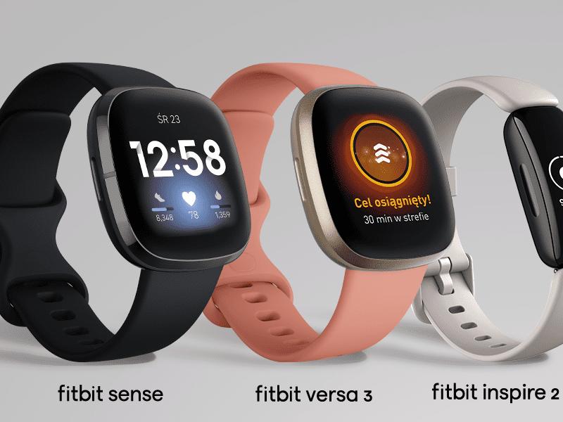 Ruszyła przedsprzedaż premierowego smartwatcha Fitbit Sense. Do gry wkraczają również Fitbit Versa 3 i Fitbit Inspire 2