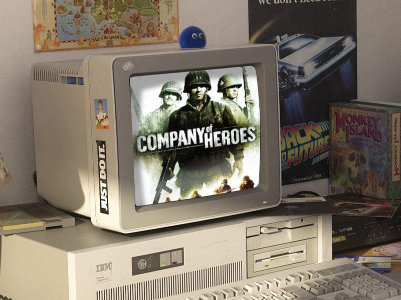 Gry stare, ale ciągle jare [#9] – Company of Heroes