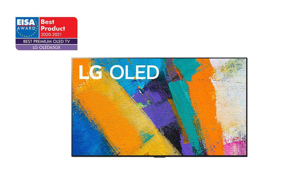 LG OLED65GX nagrodzony przez EISA