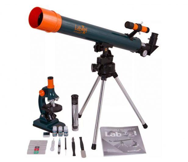 Levenhuk LabZZ Zestaw 2w1 MT2 (mikroskop+teleskop)