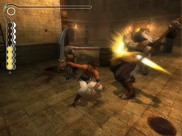 Prince of Persia Piaski Czasu walka z bossem