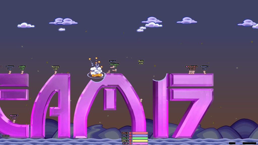 Logo Team 17 Worms Armageddon