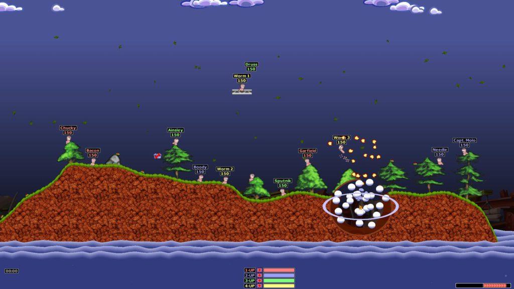 Worms Armageddon edytor map