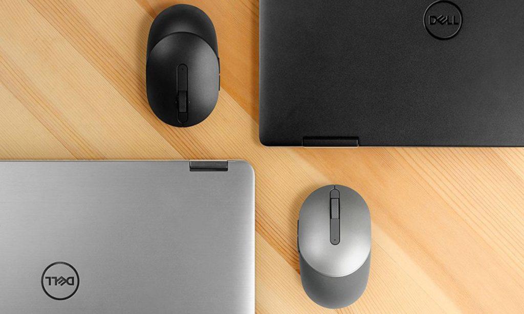 Myszka i laptop Dell