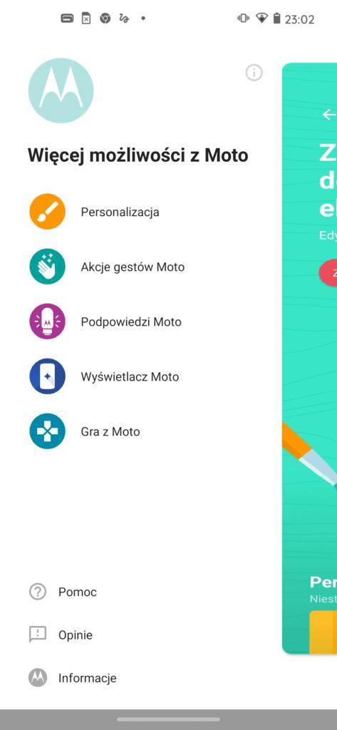 motorola edge aplikacja moto