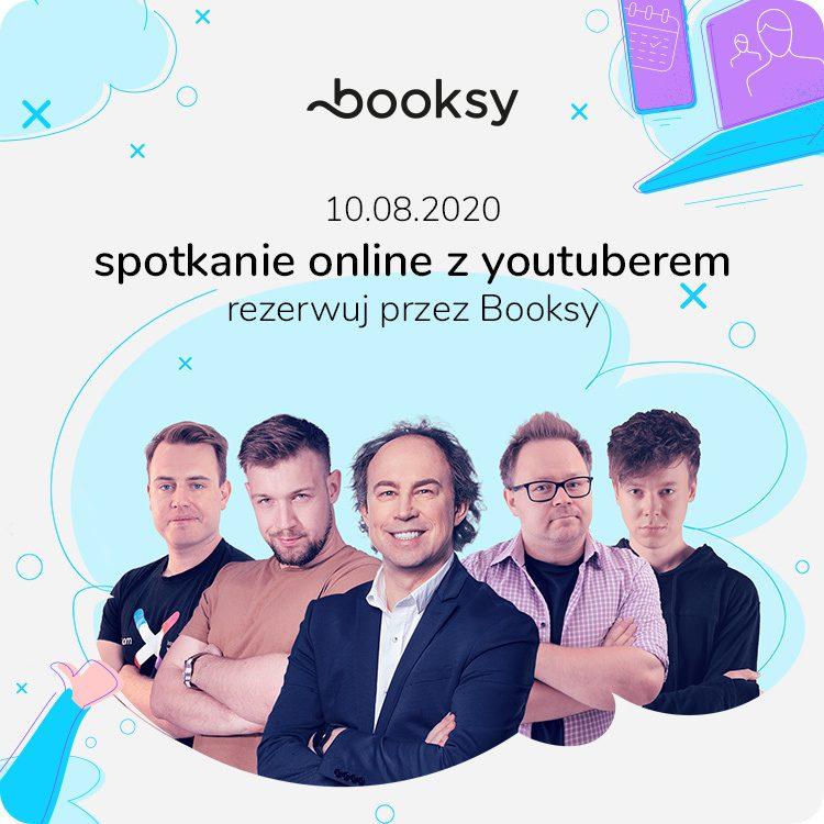 booksy - youtuberzy x-kom