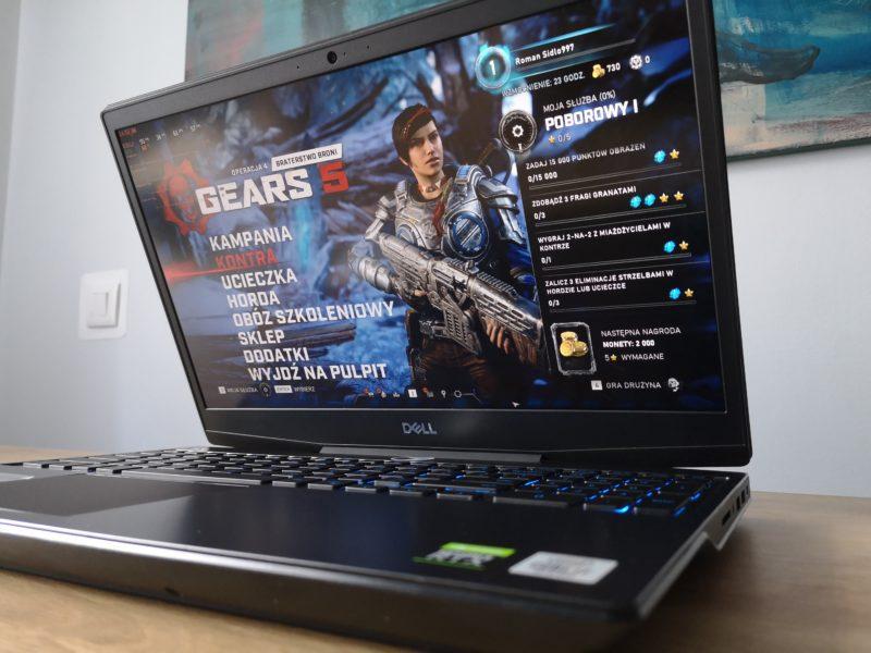 Mobilny poskramiacz gier. Recenzja laptopa Dell G5 15 5500 (2020)