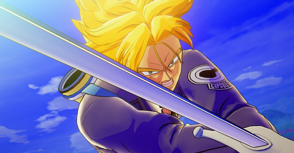 dragon ball z kakarot dlc 3 trunks