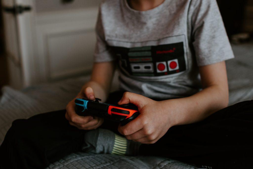 Dziecko Nintendo Switch