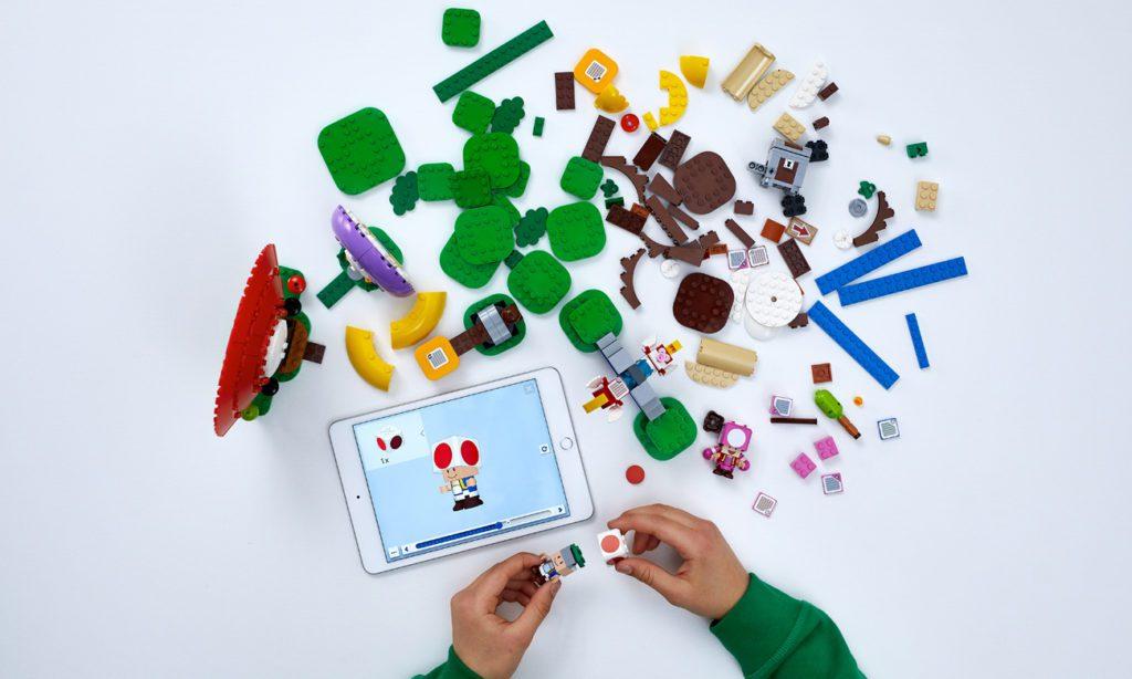 LEGO Super Mario klocki interaktywne dzieci aplikacja