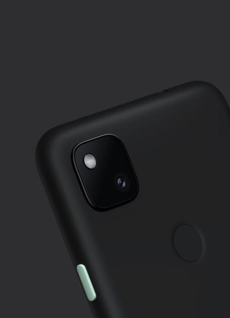 google pixel 4a aparat tył