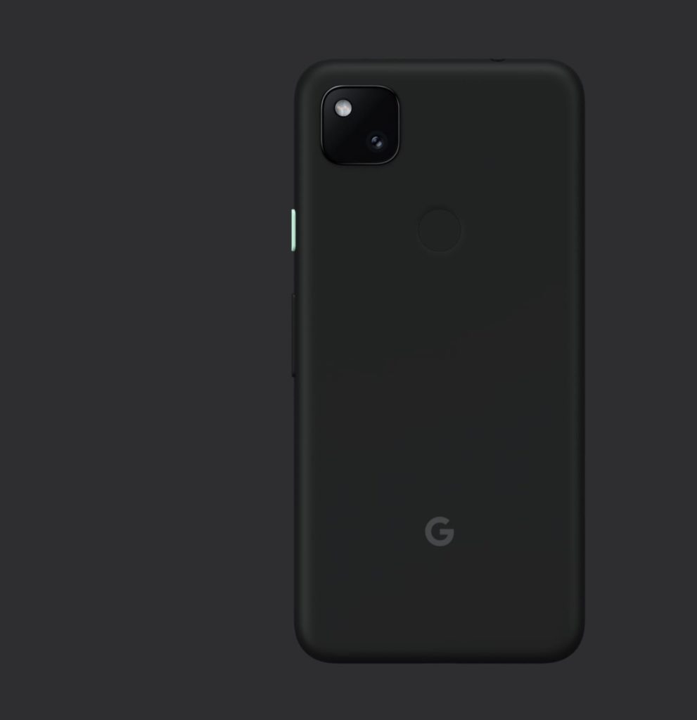 google pixel 4a design