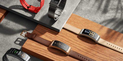 Słuchawka i smartband w jednym? Huawei pokazał opaskę TalkBand B6