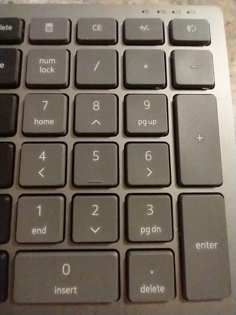 klawiatura numeryczna dell km7120w