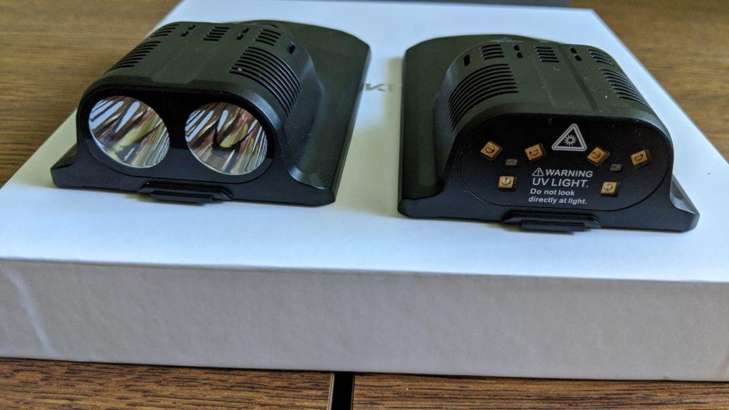 zewnętrzne lampy do smartfona oukitel wp7