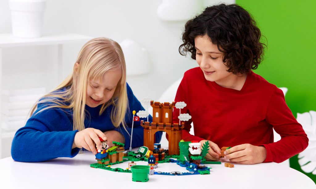 LEGO Super Mario klocki interaktywne dzieci