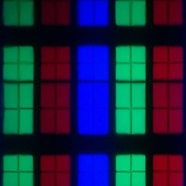 układ pikseli w matrycy 70pus7555