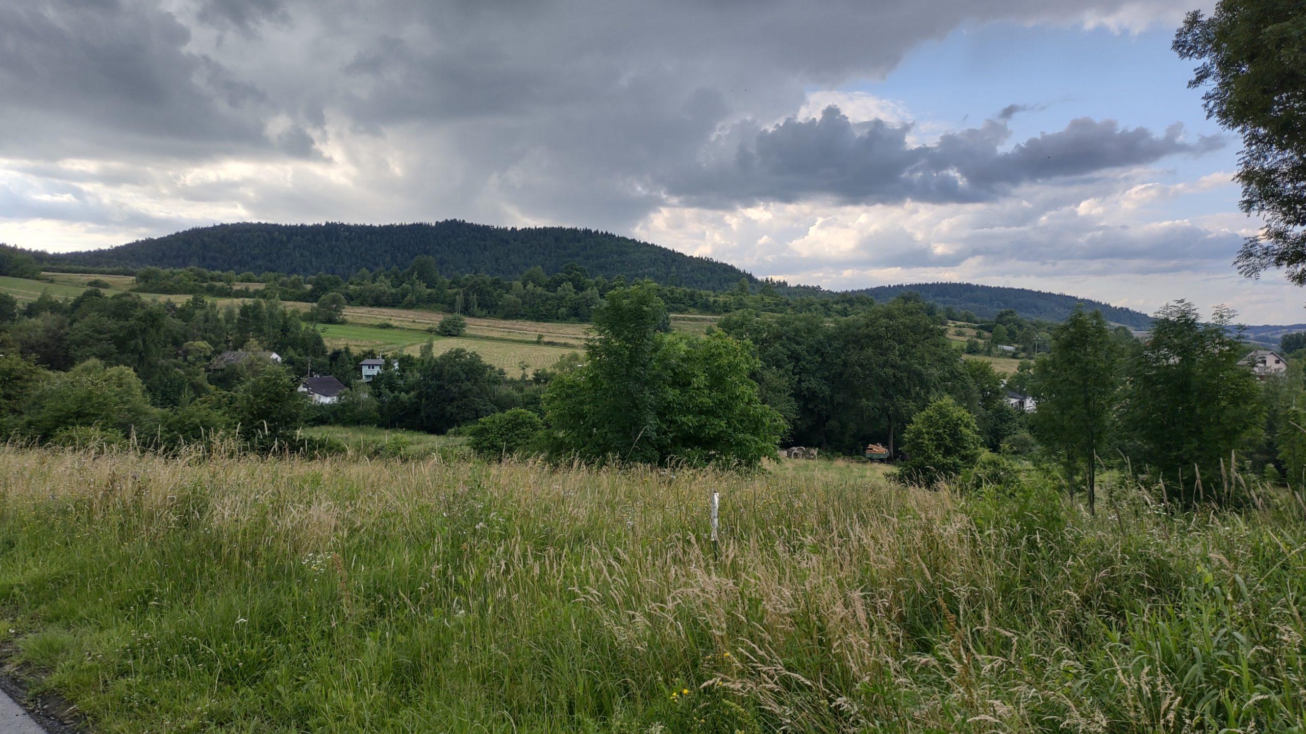 wiejski krajobraz zdjęcie wykonane motorolą edge