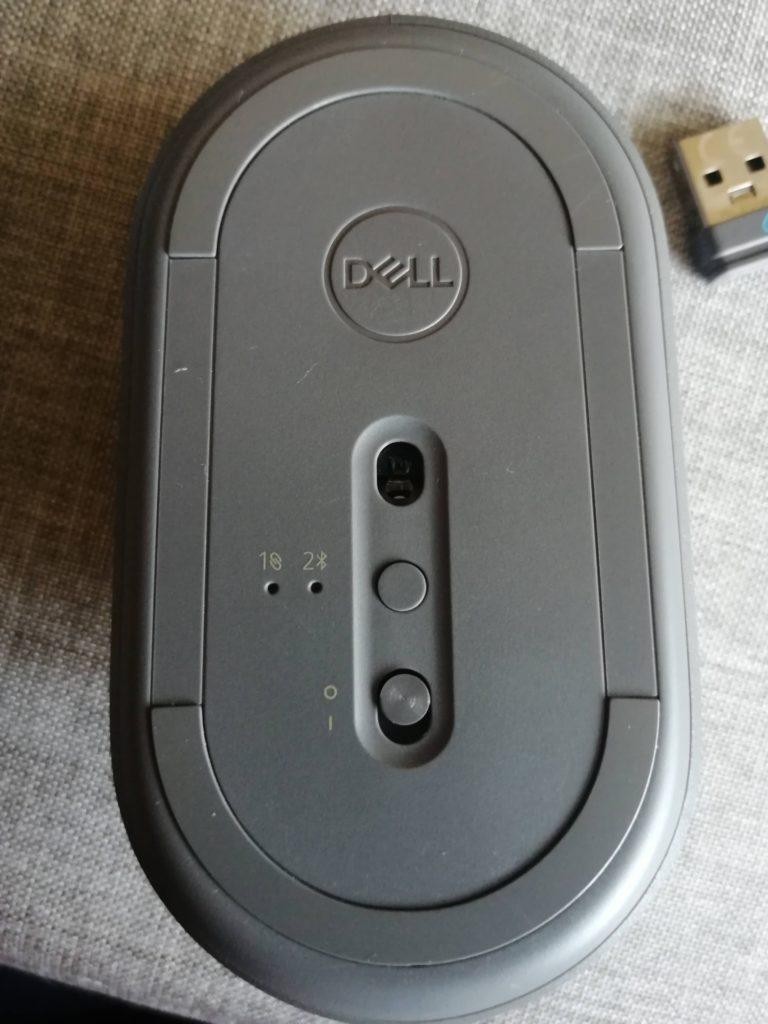 mysz dell ms5120w włącznik dół