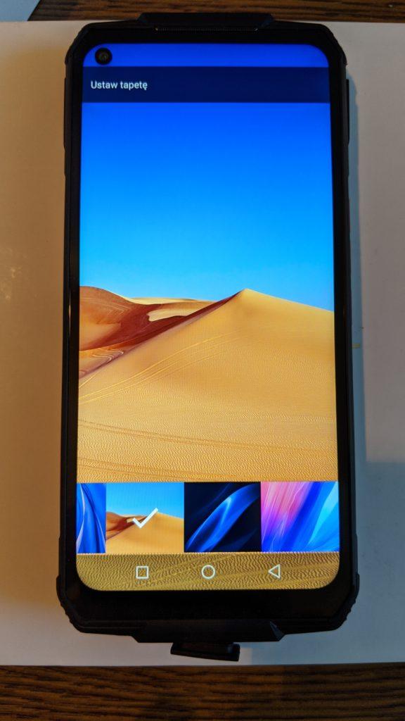 oukitel wp7 ekran