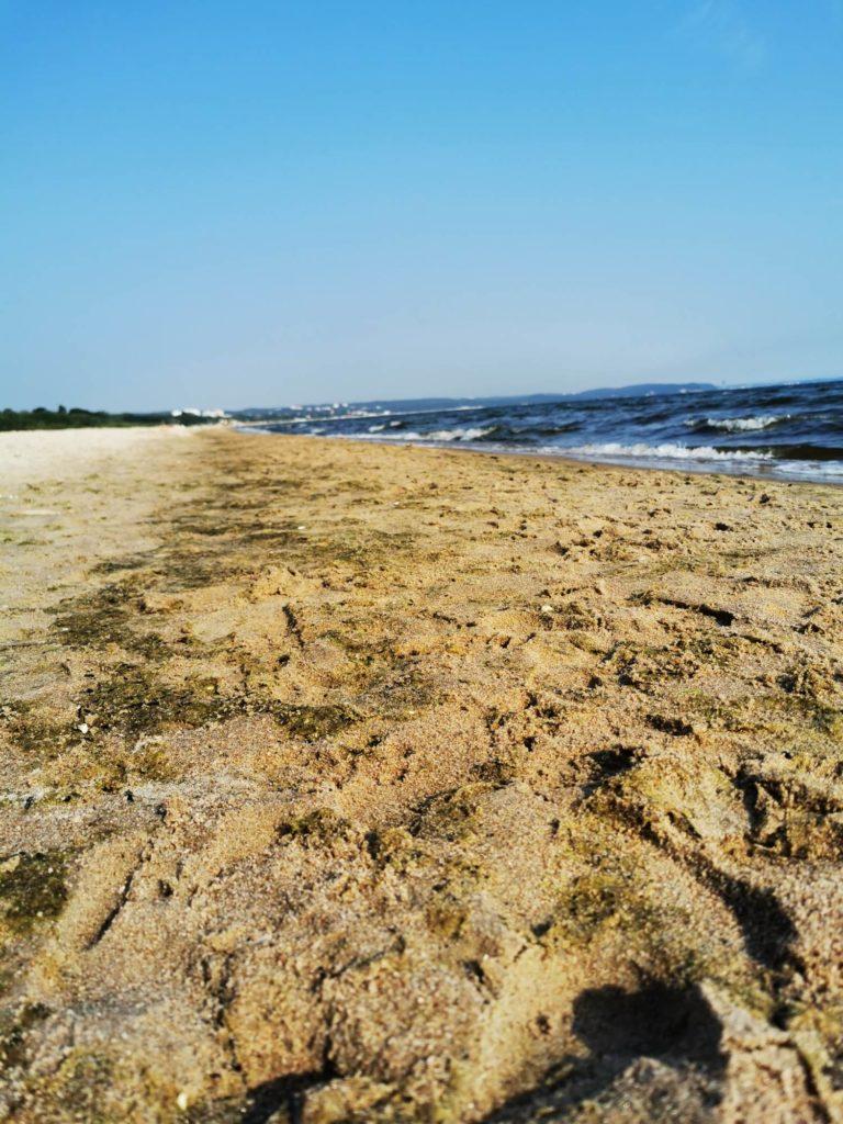 P30 Pro zdjęcie piasku na plaży