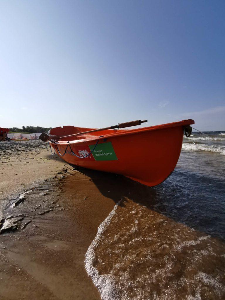 P30 Pro zdjęcie łodzi ratowniczej