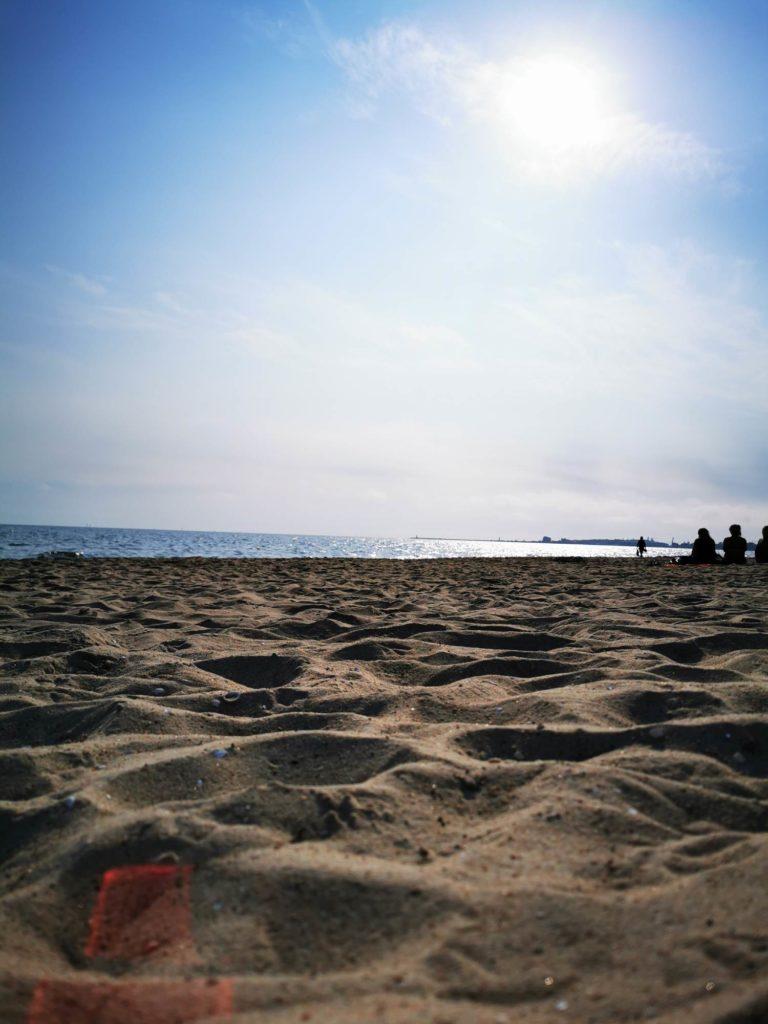 P30 Pro zdjęcie plaży