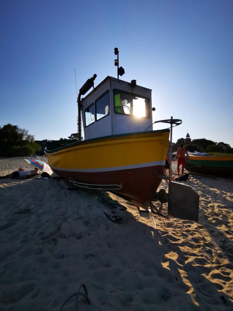 P30 Pro zdjęcie łodzi