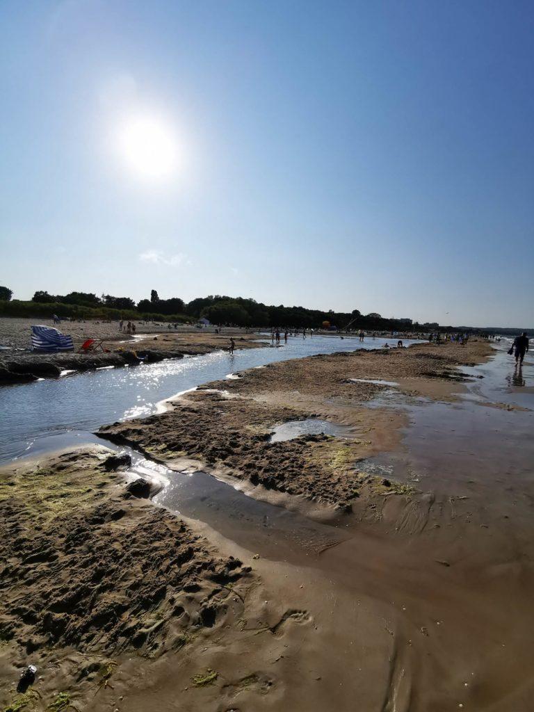 P30 Pro zdjęcie plaży pod słońce