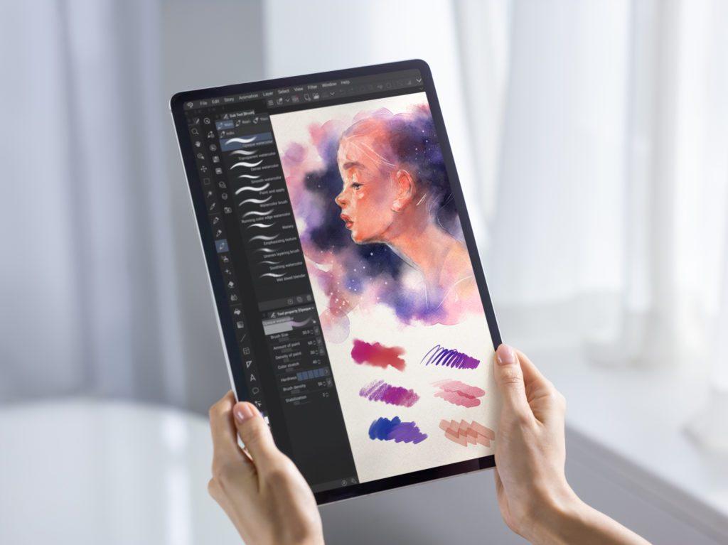 samsung galaxy tab s7 s7 plus dla artystów