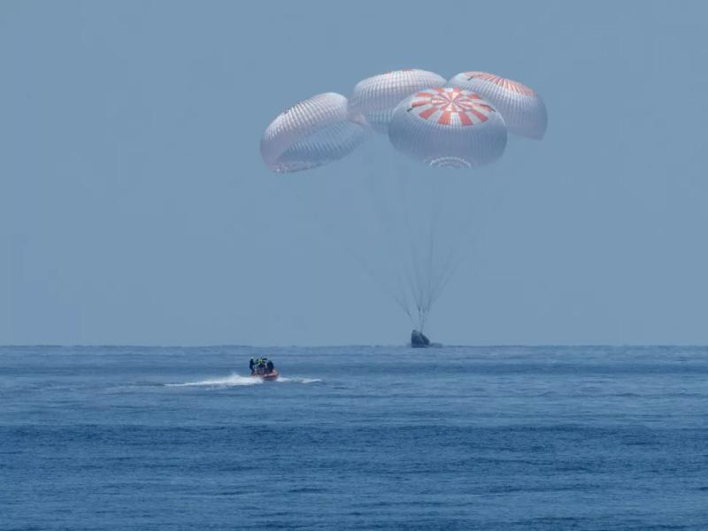 Powrót na Planetę Małp. Misja SpaceX i NASA zakończona