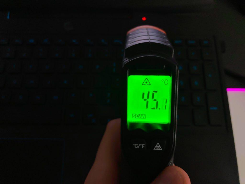 temperatura obudowy dell g3 1