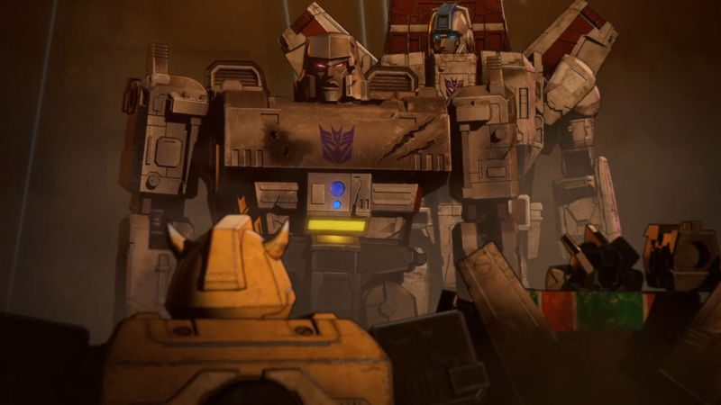 transformers war for cybertron megatron