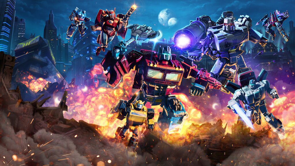 war for cybertron transformery