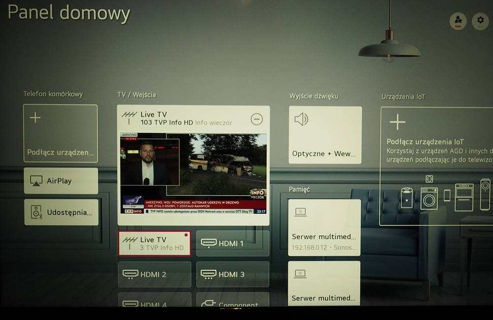 webOS i smart home