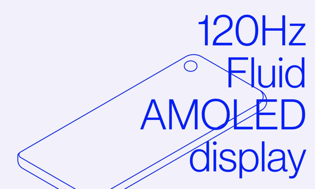 Ekran 120 Hz Fluid AMOLED
