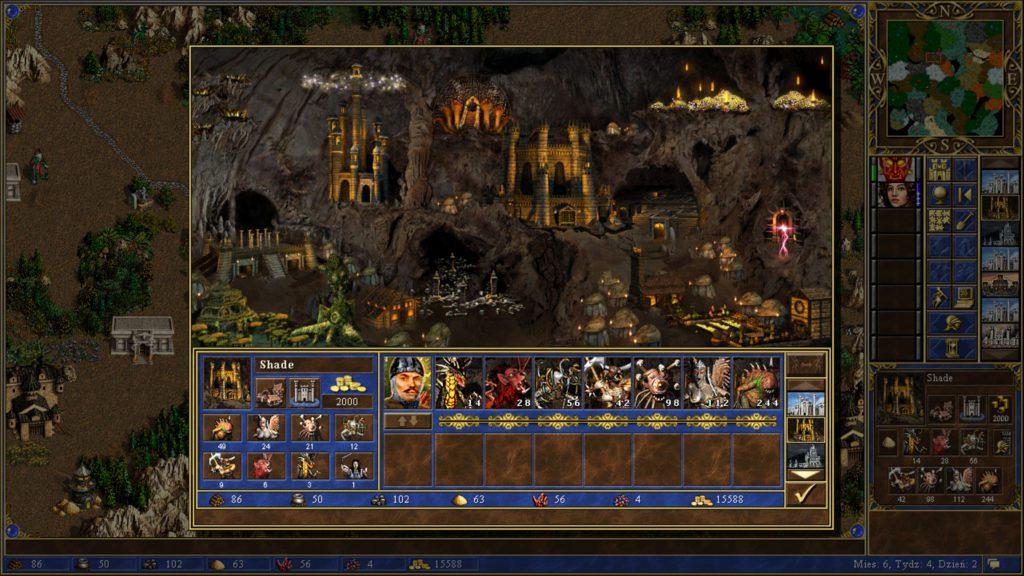 Heroes of Might & Magic 3 miasto lochy