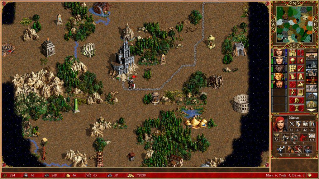 Heroes of Might & Magic 3 piraci i różni bohaterowie