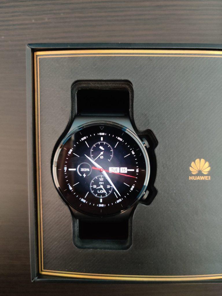 Huawei Watch GT 2 Pro wyświetlacz