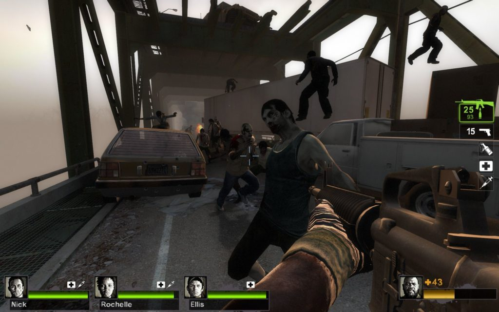 Left 4 Dead 2 most i zombie
