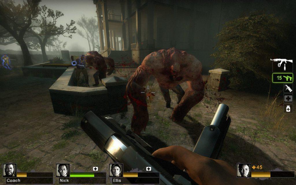 Left 4 Dead 2 walka z tankiem