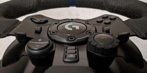 Recenzja kierownicy Logitech G923 i Logitech Shifter – być jak Kubica w domowym zaciszu