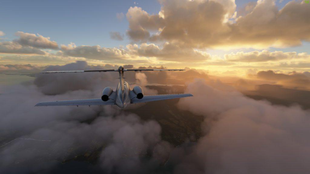 Screenshot Microsoft Flight Simulator 2020 Nowa Zelandia