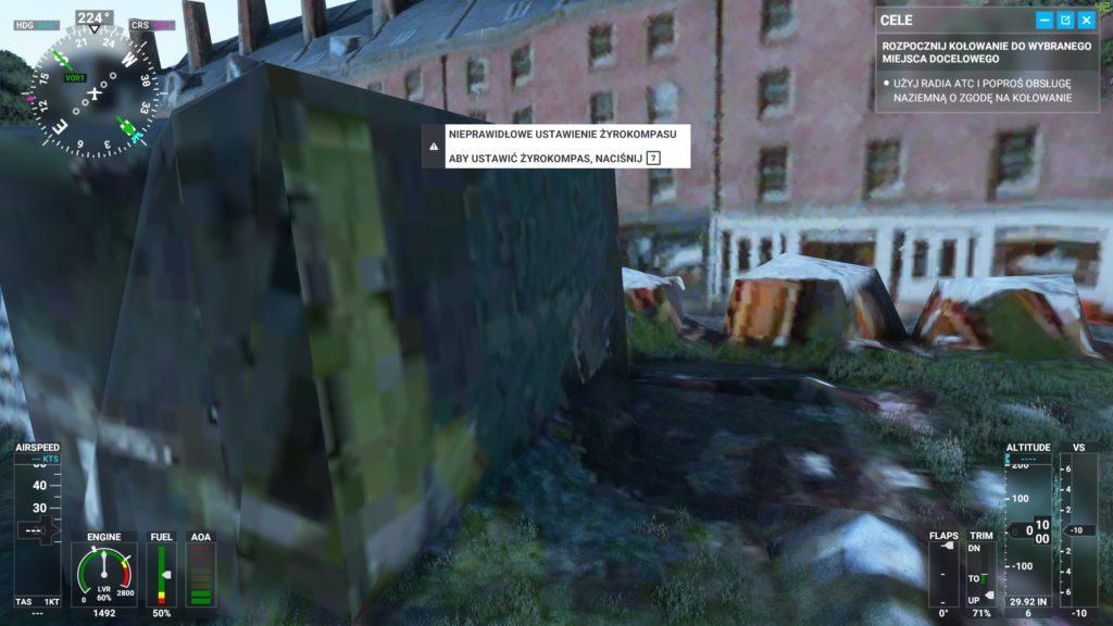 Microsoft Flight Simulator 2020 jak wygląda ulica