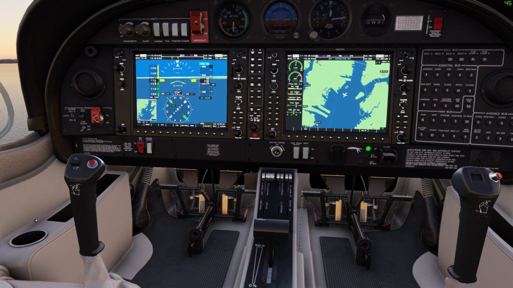 Microsoft Flight Simulator 2020 kokpit
