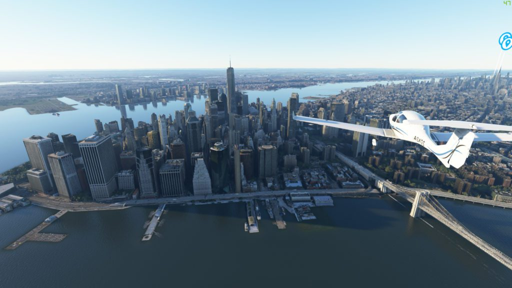 Microsoft Flight Simulator 2020 Manhattan